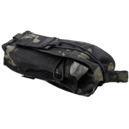 AMA Tactical Airsoft Essential Gear Bottle Pouch - CAMO BLACK