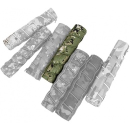 AMA Airsoft 22cm Tactical Mock Suppressor Cover - WOODLAND DIGITAL