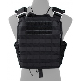 AMA Tactical QD Protective Nylon Cherry Tactical Vest  - BLACK