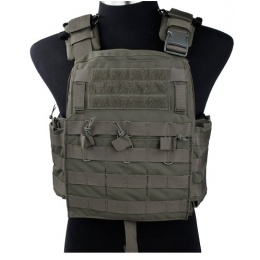 AMA Tactical QD Protective Nylon Cherry Tactical Vest - RANGER GREEN