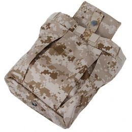 AMA Airsoft Nylon Tactical Combatant Dump Pouch - DESERT DIGITAL