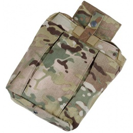AMA Airsoft Nylon Tactical Combatant Dump Pouch - CAMO