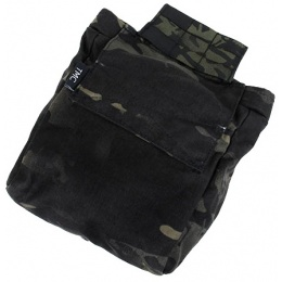 AMA Airsoft Nylon Tactical Combatant Dump Pouch - CAMO BLACK
