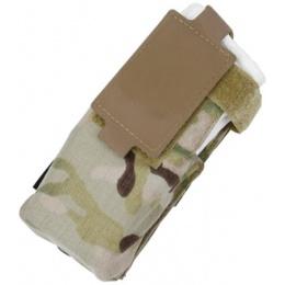 AMA 500D Nylon Paracord Lacing Patrol Radio Pouch - CAMO