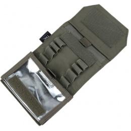 AMA Adhesive 500D Matte Dapper Admin Pouch - RANGER GREEN