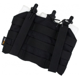 AMA Airsoft Ultra-Light Triple M4 Magazine Pouch - BLACK
