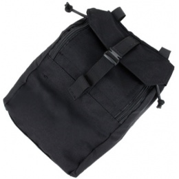 AMA Airsoft Compact 500D Nylon 973 Tactical Pouch - BLACK