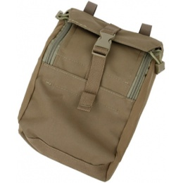 AMA Airsoft Compact 500D Nylon 973 Tactical Pouch - COYOTE BROWN