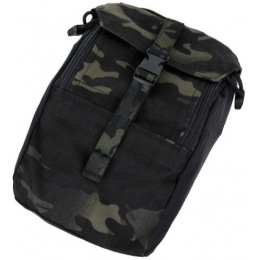 AMA Airsoft Compact 500D Nylon 973 Tactical Pouch - CAMO BLACK