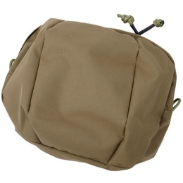 AMA Cordura Billowed Utility Pouch w/ MOLLE WEBBING - COYOTE BROWN