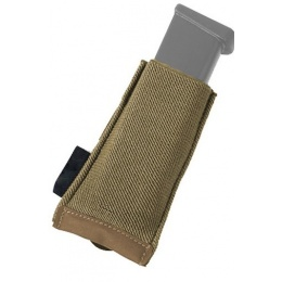 AMA TS Single 500D Nylon Pistol Magazine Pouch - COYOTE BROWN
