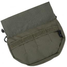 AMA Adhesive Flap 500D Nylon Tactical Dangler - RANGER GREEN