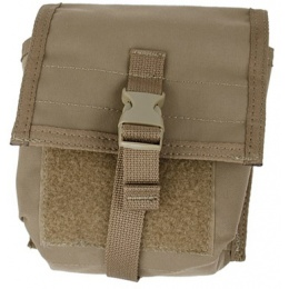 AMA Airsoft Tactical MOLLE NVG Battery Pouch - COYOTE BROWN