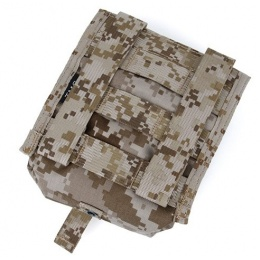 AMA Airsoft Tactical MOLLE NVG Battery Pouch - DESERT DIGITAL