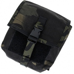 AMA Airsoft Tactical MOLLE NVG Battery Pouch - CAMO BLACK