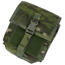 AMA Airsoft Tactical MOLLE NVG Battery Pouch - CAMO TROPIC