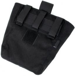 AMA Curve 500D Roll-Up Dump Bag w/ Adhesive Loop - BLACK