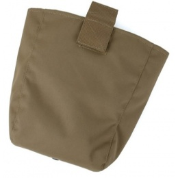 AMA Curve 500D Roll-Up Dump Bag w/ Adhesive Loop - COYOTE BROWN