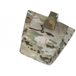 AMA Curve 500D Roll-Up Dump Bag w/ Adhesive Loop - CAMO