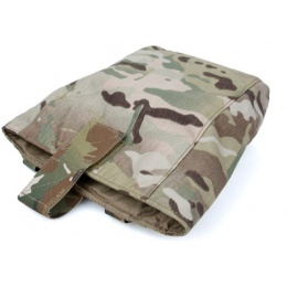 AMA Curve 500D Roll-Up Dump Bag w/ Adhesive Loop - CAMO