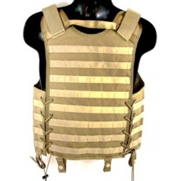 London Bridge Trading Modular MOLLE Tactical Vest - COYOTE BROWN