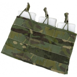 AMA Triple Wedge Magazine Pouch w/ Paracord Lacing - CAMO TROPIC