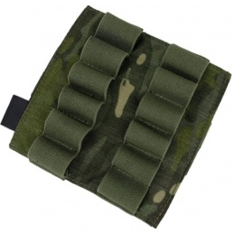 AMA Airsoft Cordura Double 870 Shotgun Shell Panel - CAMO TROPIC