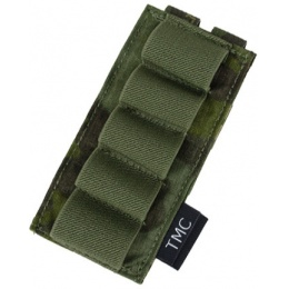 AMA Airsoft Cordura Single 870 Shotgun Shell Panel - CAMO BLACK