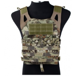 AMA Airsoft Jumper 500D Nylon Adjustable Plate Carrier - MAD