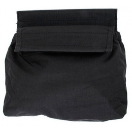 AMA Adhesive 500D Fabric & Webbing Roll Dump Pouch - BLACK