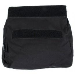 AMA Adhesive 500D Fabric & Webbing Roll Dump Pouch - BLACK