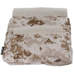 AMA Adhesive 500D Fabric & Webbing Roll Dump Pouch - DESERT DIGITAL