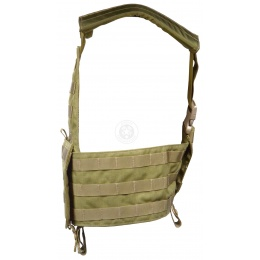 London Bridge Trading Modular Molle Tactical Chest Rig - KHAKI