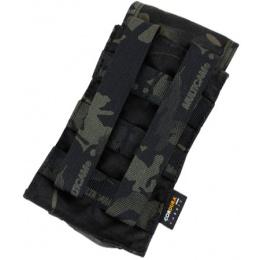 AMA HK417 Airsoft Single Tactical Magazine Pouch - CAMO BLACK
