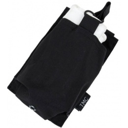 AMA OP HK417 Airsoft Single Tactical Magazine Pouch - BLACK