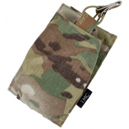 AMA Airsoft Tactical Single 417 AEG Magazine Pouch - CAMO