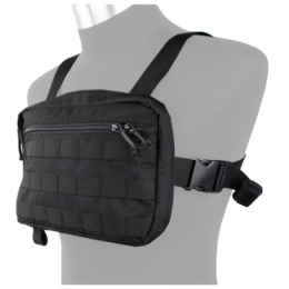 AMA Tactical Cordura Chest Strap Recon Loadout Bag - BLACK
