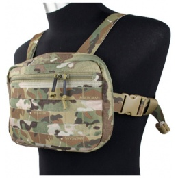 AMA Tactical Cordura Chest Strap Recon Loadout Bag - CAMO