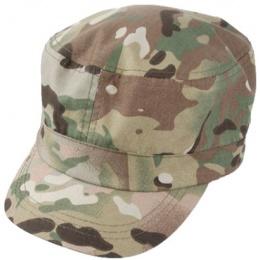 AMA Guardian Patrol Cap w/ Brass Strap - CAMO