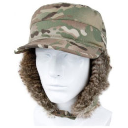 AMA Winter Earflap Hunter Warm Ski Hat - CAMO