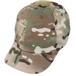 AMA Elastic Back Short Recon Adjustable Cap - CAMO