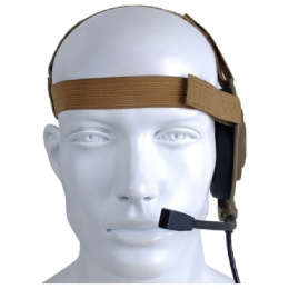 Z-Tactical Zbowman Nylon Elite II Headset - DARK EARTH
