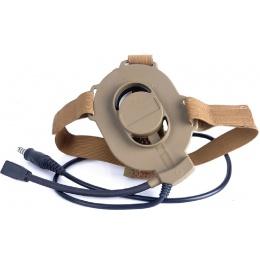 Z-Tactical Zbowman Nylon Elite II Headset - DARK EARTH