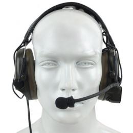 zBowman Nylon Plastic Comtac I Headset - FOLIAGE GREEN