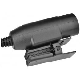 Z-Tactical Zu94 PTT Military Standard Version ICOM Version - BLACK