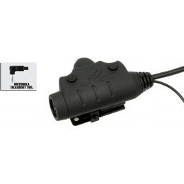 Z-Tactical U94 PTT Headset Accessory - MOTORLA 1-PIN - BLACK