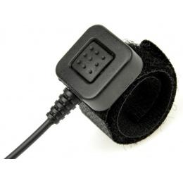 Z-Tactical U94 PTT Headset Accessory - MOTOROLA 2-PIN - BLACK