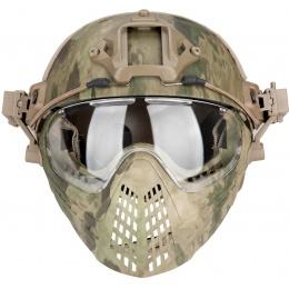 WoSport Piloteer Fast Helmet Adapter Face Mask - ATFG
