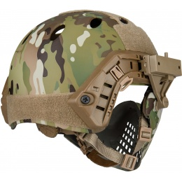 WoSport Piloteer Fast Helmet Adapter Face Mask - CAMO