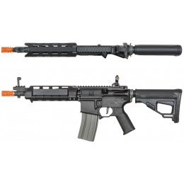ARES M4 X AEG Compact CQB Airsoft Rifle - BLACK